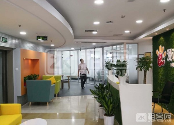 个人出租20-110平米办公室,联合工位,性价比高-1