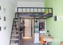 ins风loft,独立卫生间,2号线南洲站旁,可以短租,可以养宠物-3