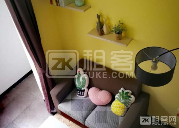 特色工业风复式房,温馨舒适,独立卫生间带厨房,可短租,可养宠物-1