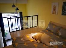 特色工业风复式房,温馨舒适,独立卫生间带厨房,可短租,可养宠物-3