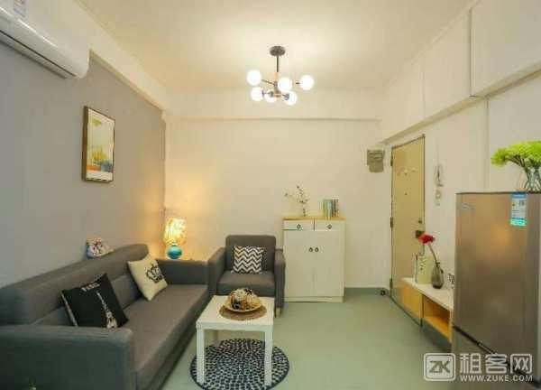 宝安上合暖家花园,1房1厅,50平米,2680元,拎包入住,所有家私电器齐-4