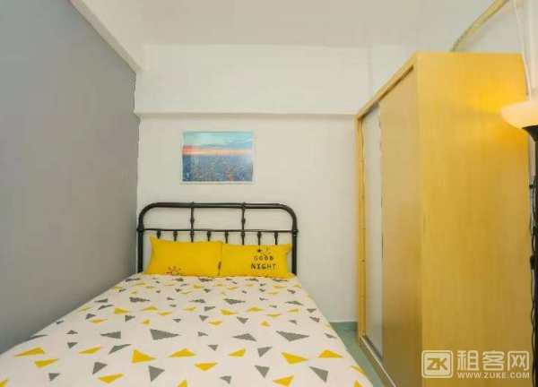 宝安上合暖家花园,1房1厅,50平米,2680元,拎包入住,所有家私电器齐-1