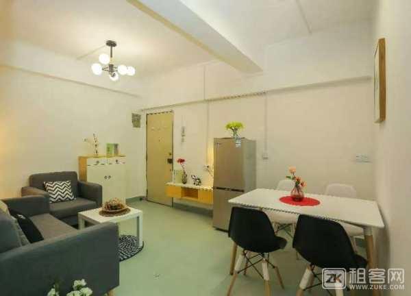 宝安上合暖家花园,1房1厅,50平米,2680元,拎包入住,所有家私电器齐-3
