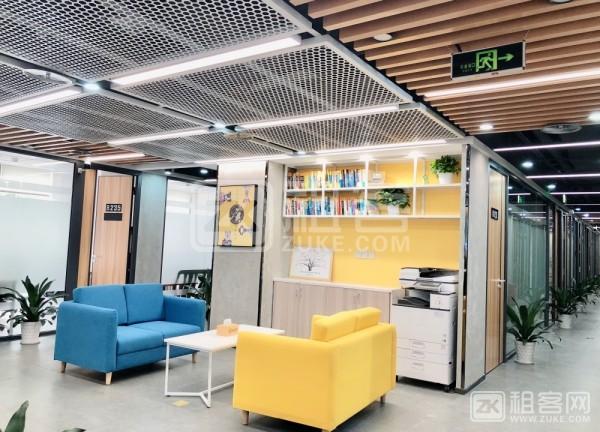 龙华地铁站小型办公室出租,1280元起费用全包-1