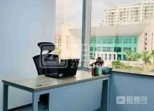 龙华新城市花园精装小型共享办公室出租即租即用