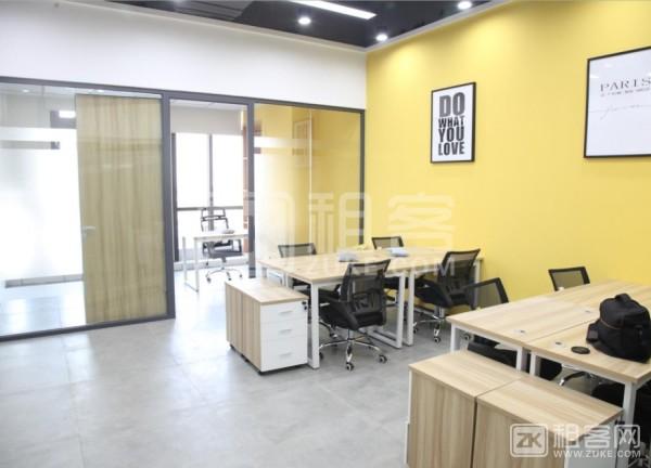 布吉木棉湾120平精装办公室55元/平租赁凭证出租-3