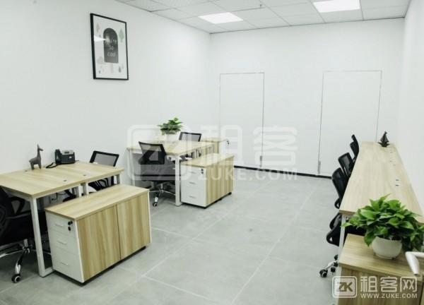 布吉木棉湾120平精装办公室55元/平租赁凭证出租-5