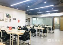 龙岗布吉精装80平工位卡位出租,6到10人间办公室-3