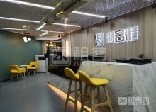 罗湖黄贝岭地铁站精装商务办公室出租,可注册外资公司