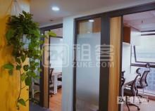 罗湖黄贝岭地铁站精装商务办公室出租,可注册外资公司-2
