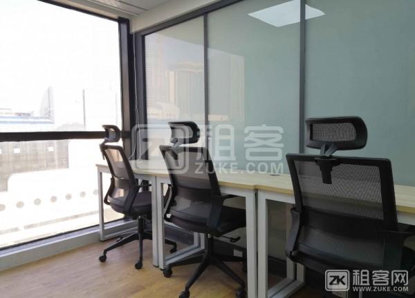 罗湖黄贝岭地铁站精装商务办公室出租,可注册外资公司-5