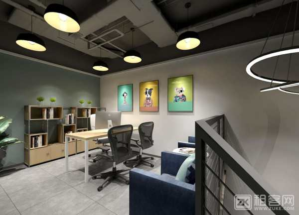 体育西红盾大厦新装修中小型全包型办公室1552元起-3