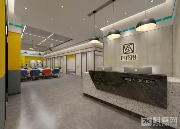 体育西红盾大厦新装修中小型全包型办公室1552元起-5