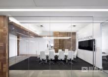 11号地铁线花桥中茵广场110平办公室出租,全新装修,近地铁,采光好-3