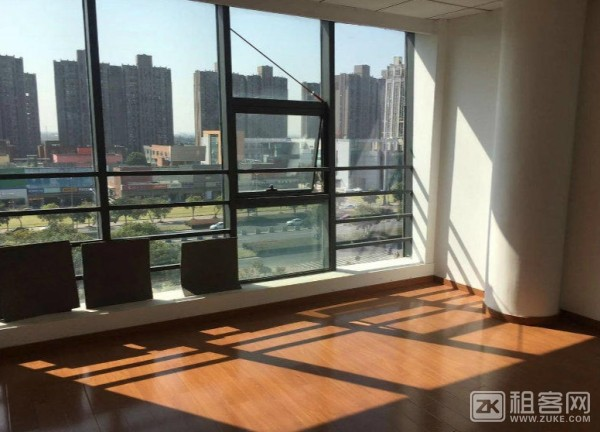 11号地铁线花桥中茵广场110平办公室出租,全新装修,近地铁,采光好-5