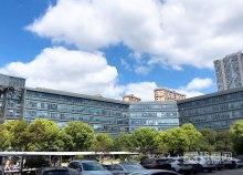 花桥中茵国际商务花园100平办公室,全新装修,可注册 全新精装修 享受优惠政策 交通方便 100-2000平,大小可选
