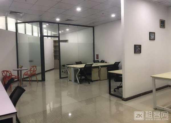前海地铁口350平精装办公室出租  带红本凭证-6