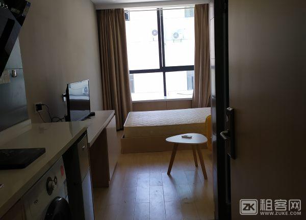 城西银泰精1居中户型装公寓家电齐全拎包住-1