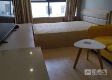 城西银泰精1居中户型装公寓家电齐全拎包住-4