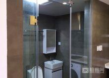 城西银泰精装公寓1居大户型家电齐全拎包住-2