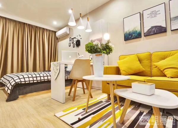 哈租客公寓城西银泰店-2