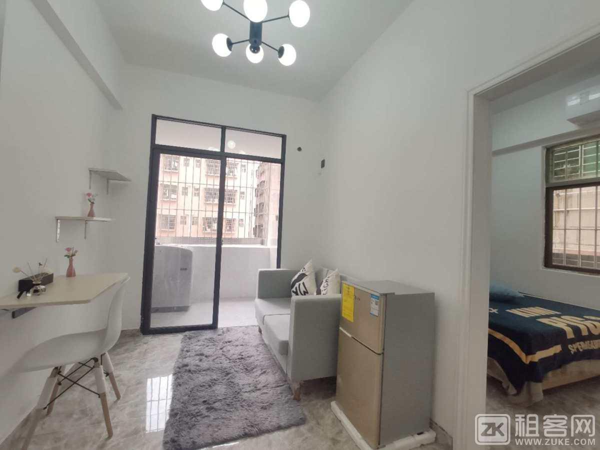 公寓直租 11号线精装大单间 采光强通风好 家私齐全 直接拎包入住