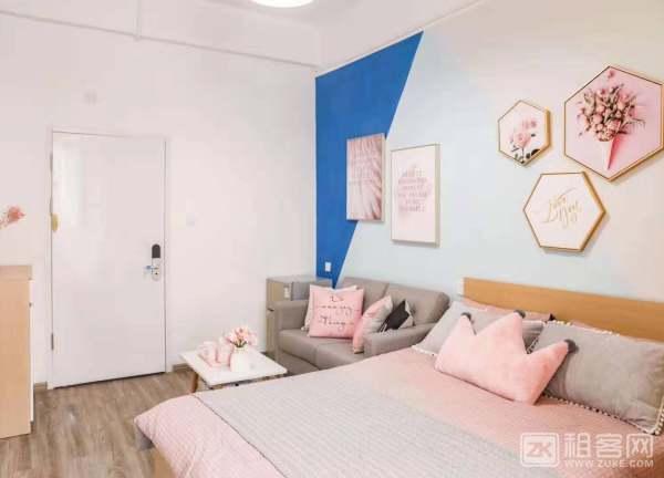 2.公寓直租 11号线精装大单间 采光强通风好 家私齐全 直接拎包入住-3
