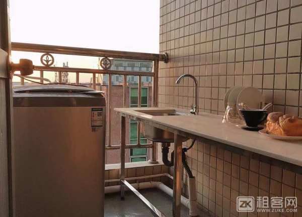 整租 11号线福永地铁站 精装公寓 家私家电齐全拎包入住-4