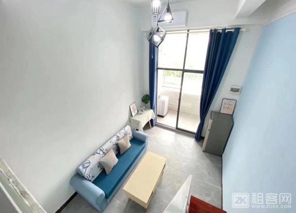 房东直租-非中介广州海珠3号线大塘地铁口旁一房一厅、单间、两房一厅、复式公寓出租1500元/月起-1