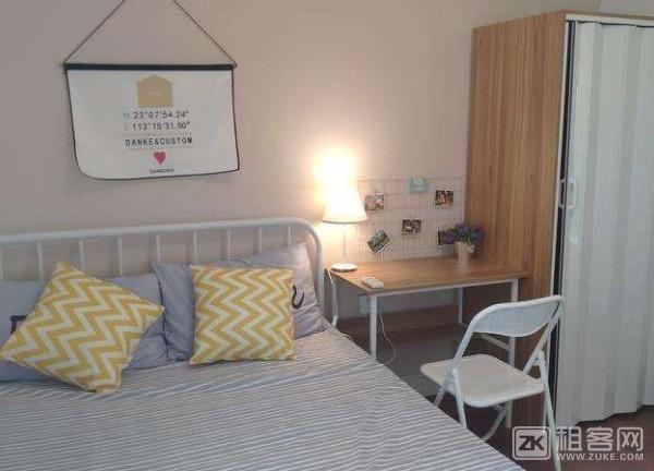 百客公寓 单房 空调 洗衣机 冰箱-1